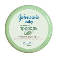 """JOHNSONS BABY Увлажняющий крем для тела """"Нежность природы"""" 250 мл"""