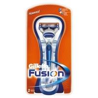 GILLETTE Бритва Fusion с 2 сменными кассетами Станок + 2 кассеты
