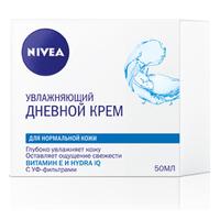 NIVEA Увлажняющий дневной крем для нормальной и комбинированной кожи 50 мл