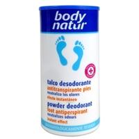 BODY NATUR Дезодорирующая пудра-антиперспирант 75 г