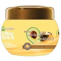 GARNIER Маска Ultra Doux для поврежденных и секущихся волос - Карите и Авокадо 300 мл