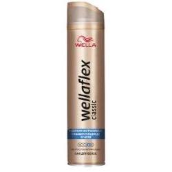 WELLA Лак для волос Wellaflex Classic экстрасильной фиксации 250 мл