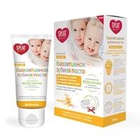 SPLAT Зубная паста для детей в возрасте 0-3 ВАНИЛЬ + сюрприз щетка 50 мл