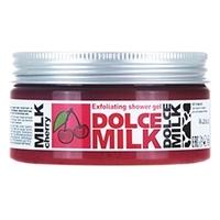 DOLCE MILK Гель-скраб для душа Молоко и вишня 200 мл