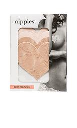 Накладки в виде сердечка nippies - Bristols6