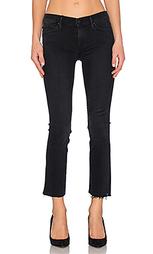 Укороченные джинсы the rascal ankle snippet - MOTHER