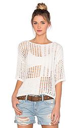 Пуловер с мозаикой - LEO & SAGE
