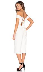 Укороченный комбинезон с открытыми плечами - Lucca Couture