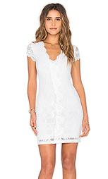 Кружевное викторианское платье с коротким рукавом - Nightcap