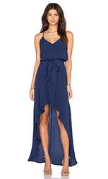 Миди платье с асимметричным подолом - WAYF