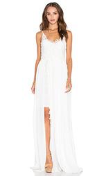 Макси платье azure - Line & Dot