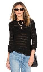 Полосатый свитер с бахромой - Inhabit