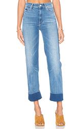 Укороченные джинсы the maverick - MOTHER