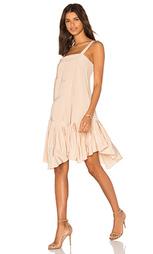 Плиссированное платье на бретельках - Tibi