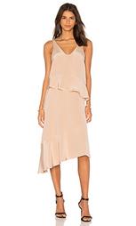 Плиссированное платье с двумя ярусами - Tibi