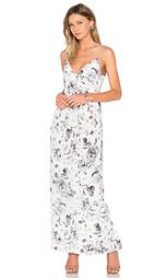 Платье long silk folded - Zimmermann