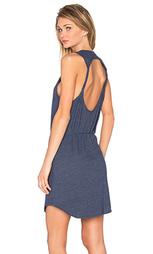 Мини платье с вырезом и переплетом сзади - Chaser
