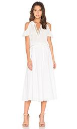 Платье с прорезями на плечах - DEREK LAM 10 CROSBY