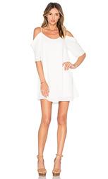 Мини-платье с открытыми плечами - krisa