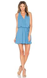 Платье с запахом и плиссированной юбкой - krisa