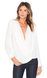 Драпированная блуза с запахом - krisa