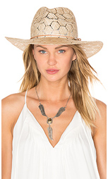 Шляпа федора straw wide brim - Rag & Bone