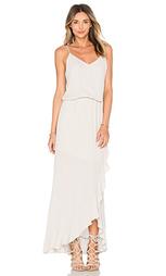 Макси платье с рюшами - krisa
