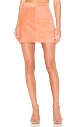 Замшевая юбка platina - AYNI