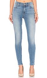 Узкие джинсы высокой посадки tanya - Level 99
