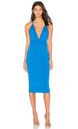 Платье с глубоким v-образным вырезом electric - BEC&BRIDGE Bec&Bridge