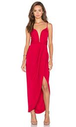 Макси платье с открытой спиной и перекрестными шлейками monique - Shona Joy