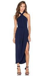 Миди платье с драпированным узлом monique - Shona Joy