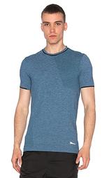 Бесшовная футболка из мериносовой шерсти - Brandblack