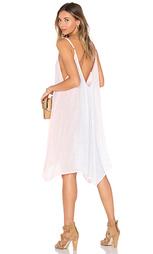 Макси платье с фестонами scallop - Bettinis