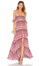 Макси платье tropical paradise - THE JETSET DIARIES