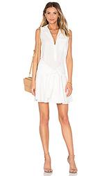 Платье с застёжкой на пуговицы и с поясом sleeveless tie waist - DEREK LAM 10 CROSBY