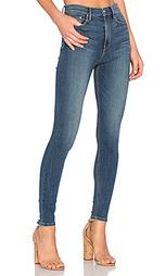 Супер узкие стрейчевые джинсы высокой посадки kendall - GRLFRND