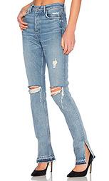 Узкие джинсы высокое посадки natalia - GRLFRND