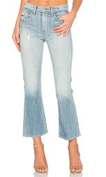 Укороченные расклёшенные джинсы joan mid-rise - GRLFRND
