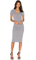Платье-рубашка v-neck - MONROW