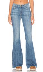 Расклёшенные от колена джинсы с низкой посадкой the high rise - Current/Elliott
