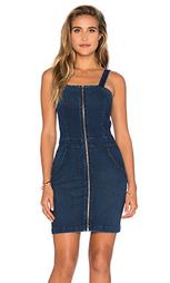 Мини платье с молнией спереди - 3x1