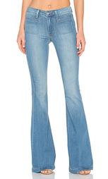 Расклёшенные от колена джинсы высокой посадки - Paige Denim