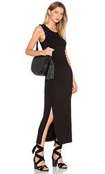 Платье миди shirred - Heather