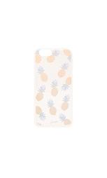 Прозрачный чехол для iphone 6/6s rainbow pineapple - Sonix