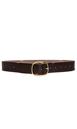 Vintage multi hole belt - Linea Pelle