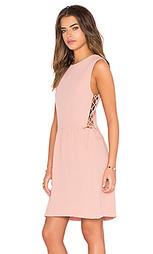 Мини платье со шнуровкой по бокам - Hoss Intropia