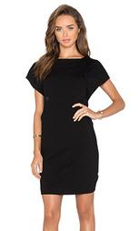 Цельнокройное платье на пуговицах с коротким рукавом - Love Moschino