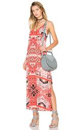 Макси-платье с вырезом v moroccan - Eight Sixty