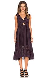 Миди платье с кружевными вставками peekaboo - Twelfth Street By Cynthia Vincent